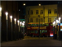 TQ1885 : Wembley: town centre bus by Chris Downer