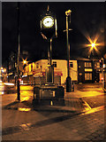 SD7807 : Piazza Clock, Radcliffe by David Dixon