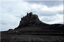 NU1341 : Lindisfarne Castle - 1983 by Helmut Zozmann