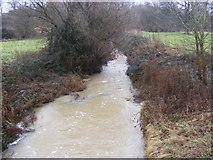 TM3569 : River Yox at Pouy Street Bridge by Geographer