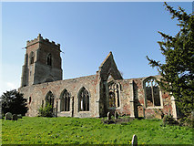 TF6013 : Wiggenhall St Peter's church ruin by Adrian S Pye