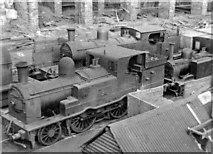 W6871 : Cork, Albert Quay: locomotives stored outside the ex-CB&SC station by Ben Brooksbank