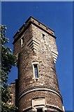 TQ3286 : Tower, former Stoke Newington pumping station by Jim Osley