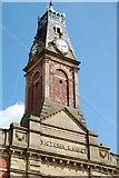 SJ9698 : Stalybridge : Victoria Market by Ken Bagnall