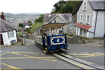 SH7782 : Great Orme Tramway - Car number 4 at Black Gate by Phil Champion