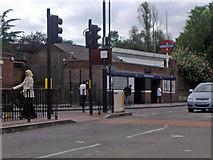 TQ3287 : Manor House Tube station by David Howard