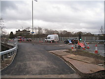 SU6252 : Final works on Brunel Road bridge by Given Up