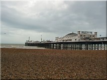 TQ3103 : Brighton Pier from the East by Paul Gillett