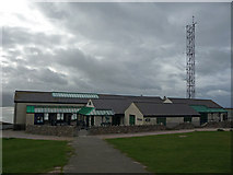 SH7683 : Summit tram terminus and the Great Orme Visitor Centre by Phil Champion