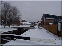 SO8453 : The start of the Worcester-Birmingham Canal by Andrew King