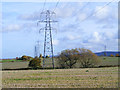 SP7501 : Farmland and pylons, Chinnor by Andrew Smith