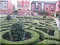 TA1028 : Formal gardens in the Museum Quarter by Stephen Craven