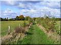 SP8000 : Footpath, Saunderton by Andrew Smith