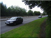 TQ1665 : Kingston Bypass westbound, Hinchley Wood by David Howard