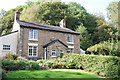 SJ9791 : Bredbury and Romiley : Weir Cottages by Ken Bagnall