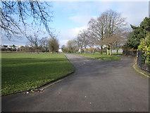 SJ3688 : Prince's Park towards Devonshire Road by John S Turner
