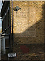 TQ4077 : Ghost sign, Siebert Road by Stephen Craven
