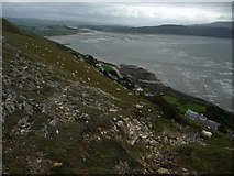 SH7683 : Steep slopes above Gogarth by Phil Champion