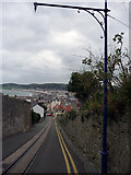 SH7782 : Tramway on Old Road, Llandudno by Phil Champion