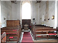 TG3708 : St Edmund's church in South Burlingham - view west by Evelyn Simak