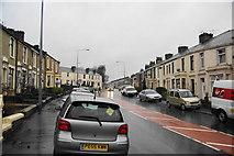 SD7328 : Blackburn Road in the rain by Bill Boaden