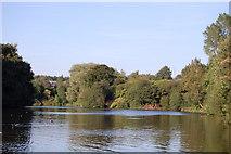 SJ9599 : Ashton under Lyne : Stamford Park Boating Lake by Ken Bagnall