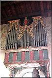 SK7368 : St Mary, Egmanton - Organ by John Salmon