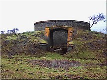 TQ7178 : Ruins of the explosives works, near Lower Hope Point (1) by Stefan Czapski