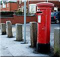 J3775 : Pillar box, Belfast by Albert Bridge