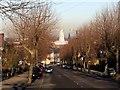 SE3405 : Locke Avenue below the junction with Park Road by John Fielding