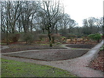 SD6911 : Moss Bank Park, walled garden by Mike Faherty