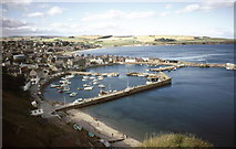 NO8785 : Stonehaven Harbour by Russel Wills