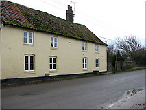 TF9740 : Cottages in Westgate near Binham by Evelyn Simak