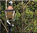 J4079 : Old lamp. Marino station by Albert Bridge