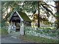 ST3996 : Lych gate, Llantrisant church by Ruth Sharville