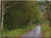 NN5810 : National Cycle Network route 7 by Richard Webb