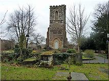 TQ3089 : Hornsey church tower by Robin Webster