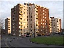 SJ9400 : Council Housing - Lathe Court by John M