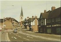 SK3871 : Lordsmill Street, Chesterfield in 1986 by John Baker