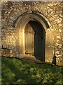SS7402 : Doorway, St Petrock's Church, Clannaborough by Derek Harper