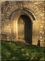 SS7402 : Doorway, St Petrock's Church, Clannaborough by Derek Harper