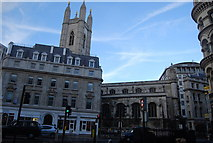 TQ3281 : Tower of St Mary Aldermary by N Chadwick