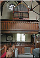 SJ2322 : St Michael the Archangel, Llanyblodwel - Organ loft by John Salmon