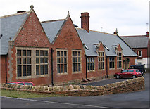 SK5274 : Creswell - former infants school by Dave Bevis