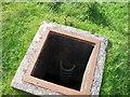 NS4277 : Starfish Decoy Site - Control Bunker Escape Hatch, Auchenreoch Muir by Gerry Law