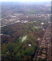 TQ1876 : The Royal Botanic Gardens from the air by Thomas Nugent