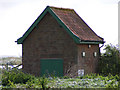 TG3405 : Pumping Station near Claxton Marsh by Glen Denny