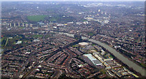 TQ1977 : Kew and Gunnersbury from the air by Thomas Nugent