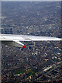 TQ3283 : Shoreditch and the Thames from the air by Thomas Nugent