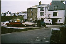 SW9980 : Port Isaac Harbour by Trionon